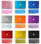 """Crystal Hard Case Keyboard Cover For 13"""" 13.3"""" Apple Macbook A1181 Laptop White"""