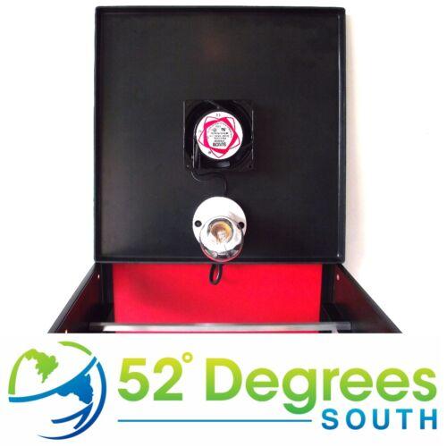 Biltong Hersteller Kiste mit roter Rückwand Trockenfleisch Entfeuchter Crown