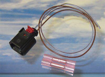 1x 30cm Reparatur-Leitung 0,50mm mit Stecker 1J0973702 2x Stossverbinder Audi VW