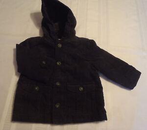 cdecb5551f78 Gymboree 12-24 Month Navy Corduroy Woodland Party Coat Jacket NWT