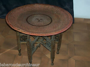 Ancienne-table-marocaine-Old-table-Morocco