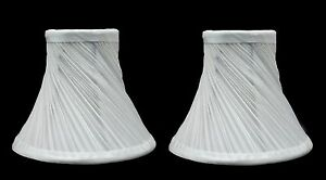 Urbanest-Swirl-Pleated-Chandelier-Lamp-Shades-Bell-3-034-x6-034-x5-034-Off-White-set-of-2
