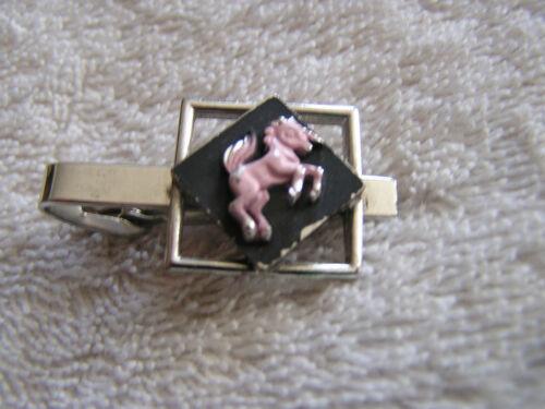 Vintage Tie Clip with Horse