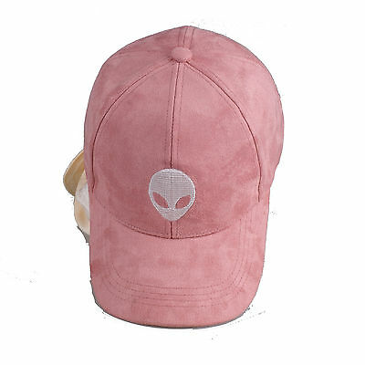 Aliens Saucer Space E.T UFO Snapback Baseball Suede Cap Adjustable Hat Men Women