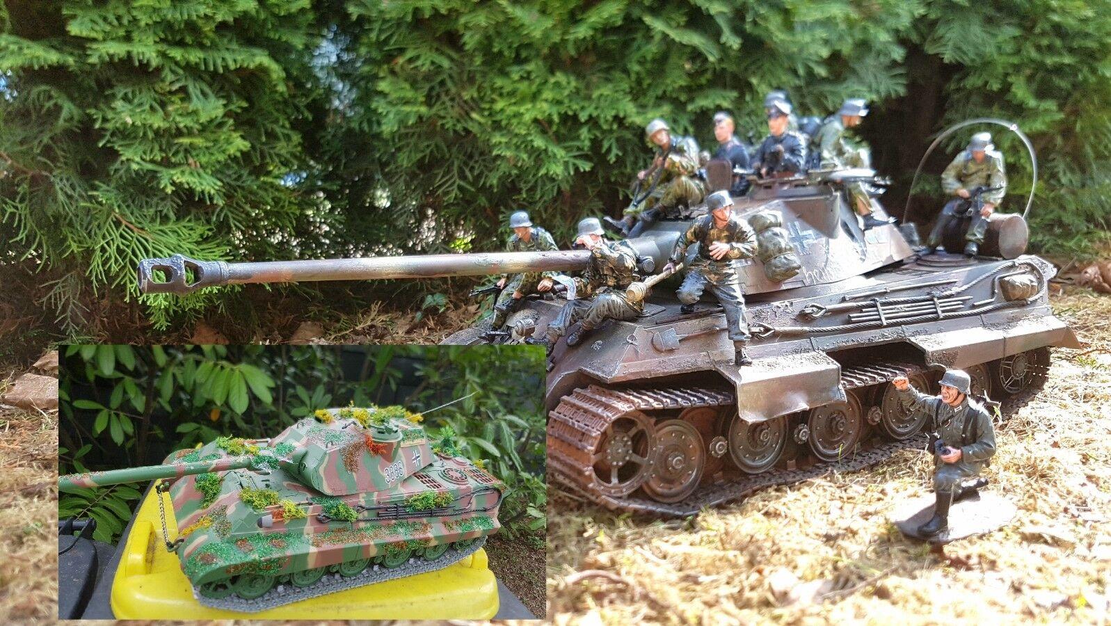 1 16 CP modelismo, estamos construyendo sus tanques.