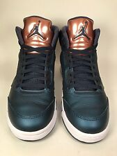 "Men's Air Jordan Retro 5 ""Bronze"" Basketball Shoes 136027-416 Size: 11"