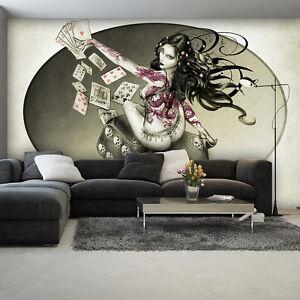 Poster Wandbild Tapeten Fototapete Alchemy Got Roller Frau Tarot