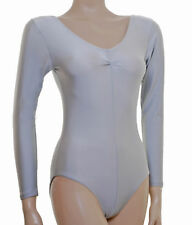 #JANE Ballet Colours Lycra Leotard Short Sleeve Gathered Bust