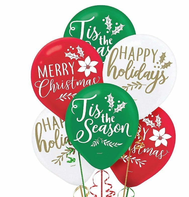 Traditional Christmas Balloons For Sale Online Ebay