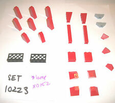 Red Roof Tile Slope 4460 60481 3049 3245 2449 3048 3045 3185 18759 LEGO 10223