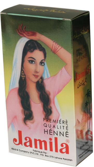 12 Packs x 2018 Crop Jamila Henna Powder 100g Fresh Body Art Quality Mehndi