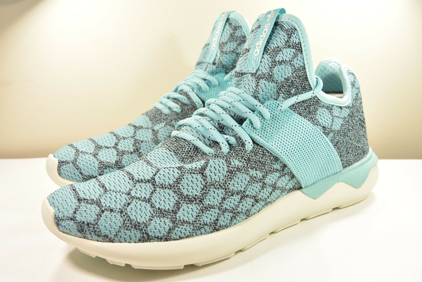 DS 2018 ADIDAS TUBULAR RUNNER PRIMEKNIT BLUE 11 UNDEFEATED RICK OWEN RAF