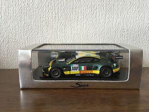 Spark 1/43 Aston Martin Dbr9 n ° 100 Le Mans 2007 S1211