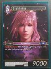 Carte Final Fantasy TCG - Lightning - PR-003 Promo Non Foil Française Neuve