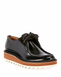 Dries Van Noten Platform Lace Up Patent Leather Wally Shoes Women Size 41 Used Ebay