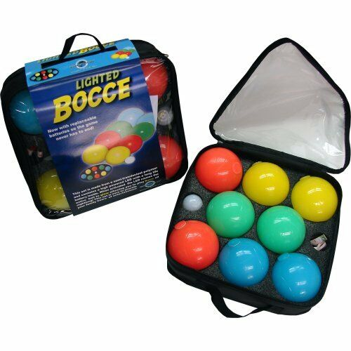 Water Sports Bocce Set 80075-6 Lighted Bocce Ball Set