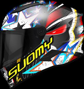 Helmet-Integrated-Included-Suomy-Speedstar-Iwantu-SIZE-XS-lt-XXL