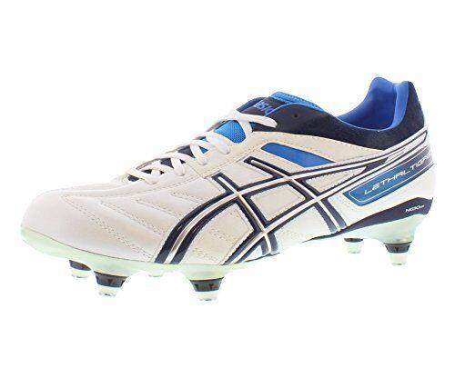 ASICS para Hombre Lethal Tigreor 4 ST Zapato De Fútbol-Pick Talla Color.