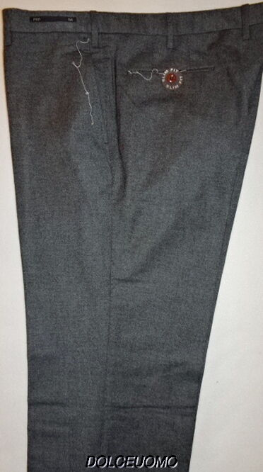 NEW  men PT01 ITALY 40 W 56EU SLIM FIT DRESS PANTS SUPER 100'S VIRGIN WOOL