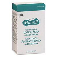 Gojo Antibacterial Lotion Soap, Amber, Nxt 2000 Ml Refill, 4/carton - Goj225704 on sale