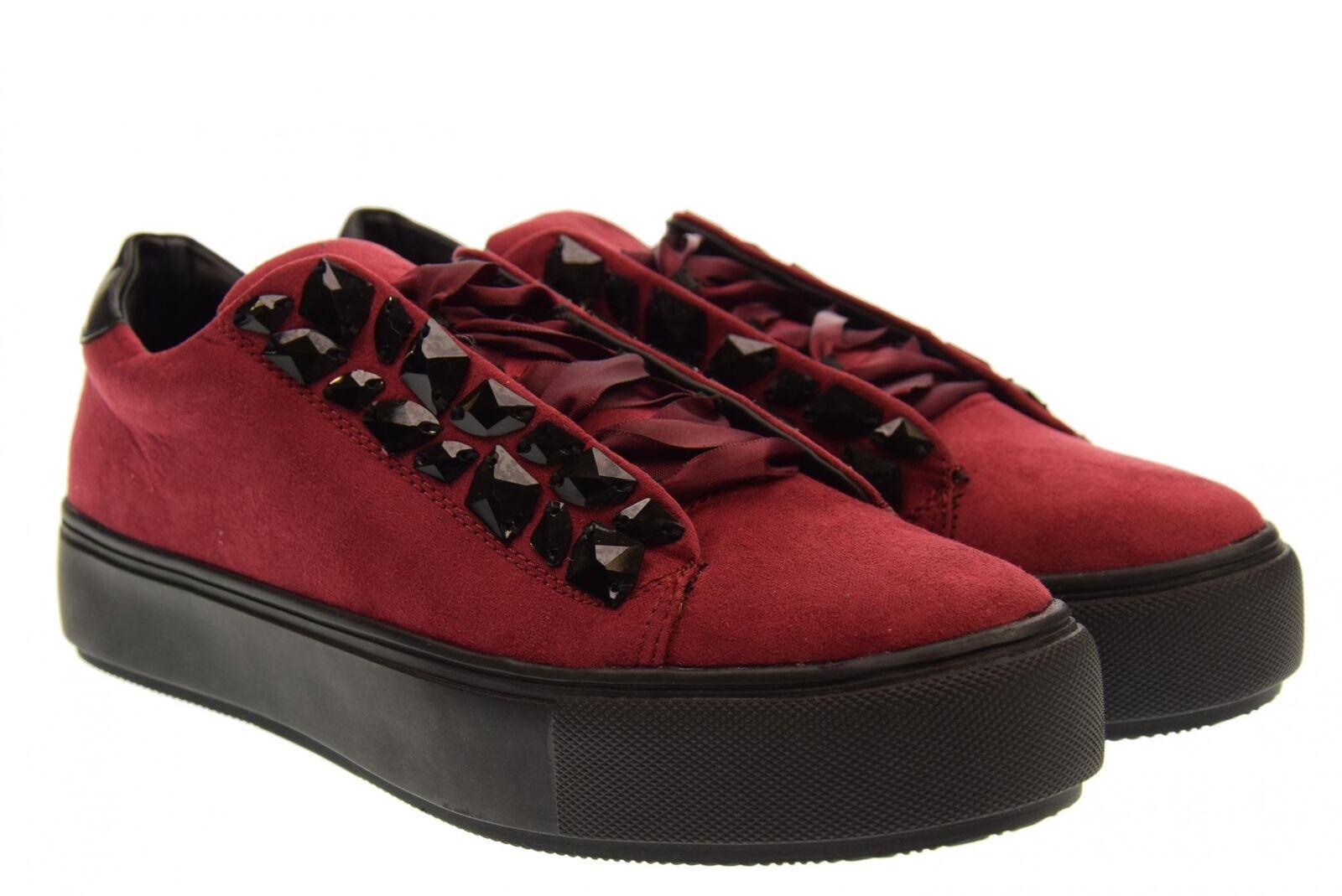 Xti A18us shoes woman low sneakers 48369 bordeaux