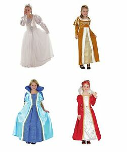 Image is loading CHILD-GIRLS-PRINCESS-COSTUMES-FAIRY-TALE-FANCY-DRESS-  sc 1 st  eBay & CHILD GIRLS #PRINCESS COSTUMES FAIRY TALE FANCY DRESS ALL KINDS AND ...