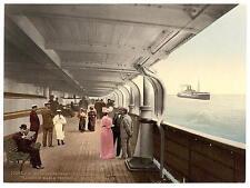 North German Lloyd Xi Royal Mail Steamers A4 Photo Print