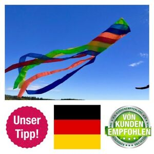Wunderschoener-Windsack-Rainbow-in-leuchtenden-Farben-wetterfest-stabil-BRD