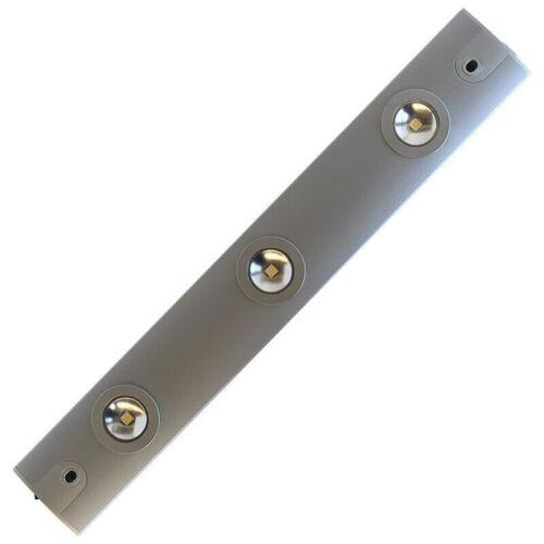 REV Ritos LED Unterbauleuchte Unterschrankleuchte 3x1 Watt silber 2800630310