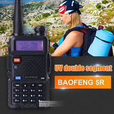 BaoFeng UV-5R VHF/UHF Dual-Band ham 2 way 5R radio Walkie Talkie Ship From USA
