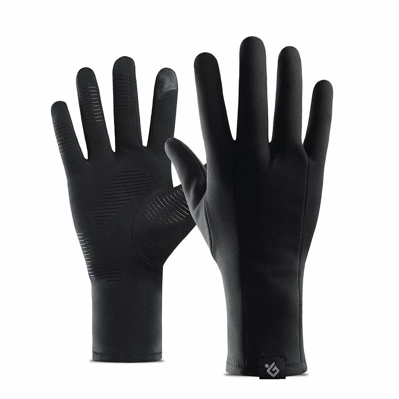 Kids Adults Gloves Boys Girls Winter Warm Thermal Windproof Soft Glove Black UK
