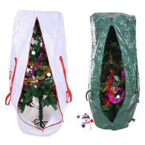 Christmas Tree Storage Bag Upright Deluxe Heavy Duty Holiday For 9 ...