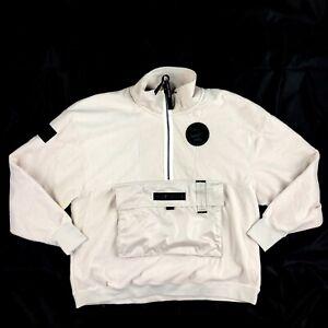 Details about Nike AF1 Air Force 1 Fleece Sweatshirt Jacket Light Brown AJ0801 102 Men's Large