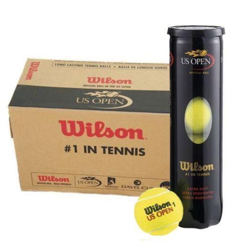 TWENTY FOUR DOZEN  WILSON US OPEN TENNIS BALLS free  UK DELIVERY.