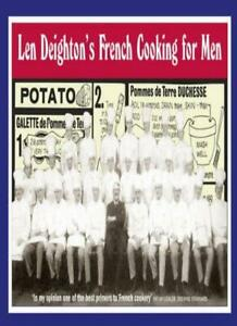 Len-Deighton-039-s-French-Cooking-for-Men-50-Classic-Cookstrips-for-Today-039-s-Acti