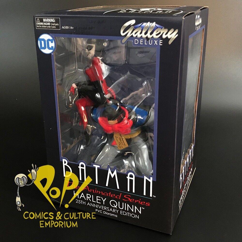 "BATMAN HARLEY QUINN 25th Anniversary Animated DC GALLERY 10"" Vinyl PVC Figure"
