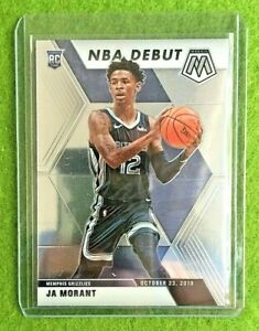 JA-MORANT-MOSAIC-ROOKIE-CARD-JERSEY-12-GRIZZLIES-SP-RC-2019-20-Panini-Mosaic-rc