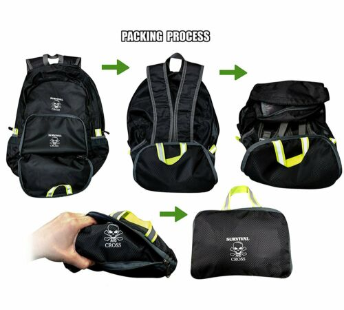 Outdoor 20L Waterproof Backpack Sports Exercise Hiking Camping Gym Daypack
