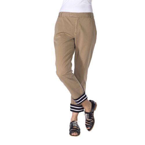 Ankel Band Nwt Us 4 Of Sz 8 Pants Khaki Outsiders Striped Hem W Designer t6wq1wdH