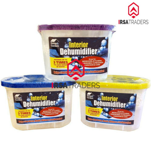 Portable Dehumidifier for Car Home Interior Damp Mould Mildew Moisture Remover