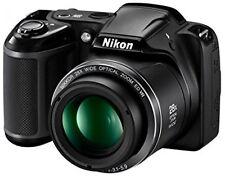 Brand New Nikon Coolpix-L340-20MP-28x-Zoom-Bridge-Camera-Black