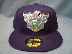 New-Era-59fifty-Phoenix-Suns-Iridescent-Sz-7-1-2-BRAND-NEW-Fitted-cap-hat-NBA
