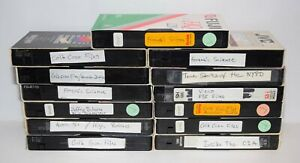 Lot-of-13-Various-Brands-VHS-Tapes-Sold-As-Blank-Media-Lot-25