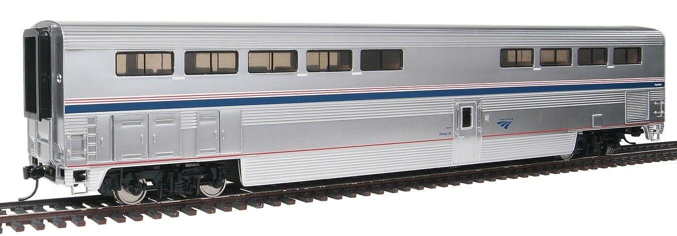 HO 85' P-S Superliner I Diner  Lighted  - Amtrak Phase IVb - Walthers  920-12033