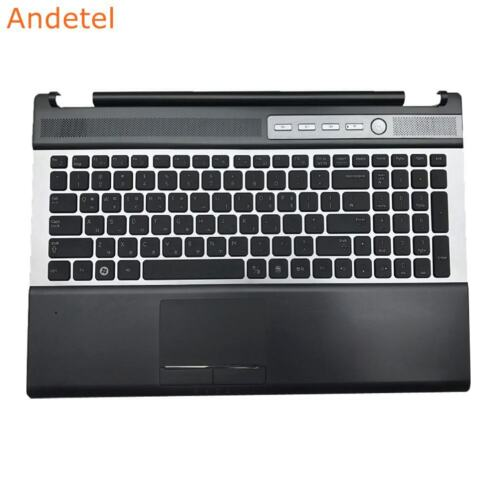 SAMSUNG RF510 RF511 Laptop Palmrest Cover W//Bilingual English Keyboard Touchpad