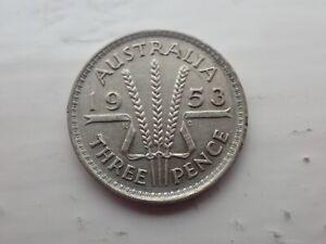 1953-Australian-Threepence-lot-705