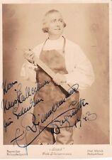 ERICH ZIMMERMANN opera tenor signed Bayreuth photo as David in Meistersinger