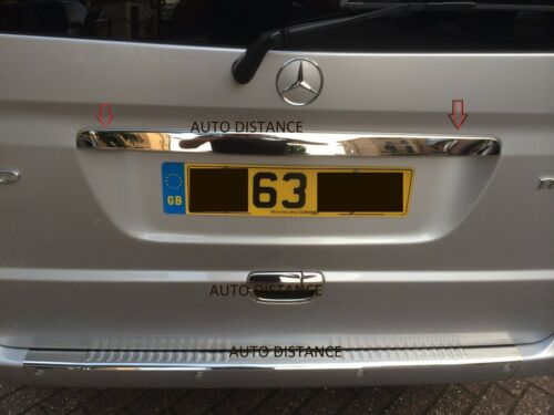 MERCEDES Vito Viano W639 Rear Trunk Lid Cover S.Steel 2004-2014 SINGLE REAR DOOR