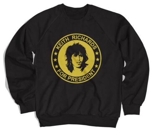 Keith Richards Für President Unisex Sweatshirt Pullover T-Shirt