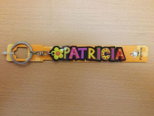 """witizig /"""" PATRICIA /"""" Fun Schlüsselanhänger von Albatros mit Namen bunt"""
